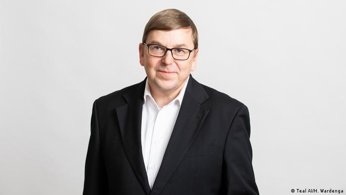 Klaus Holthausen, Vorstand des Startups Teal AI