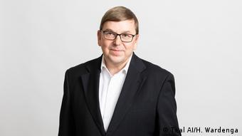El neurofísico Klaus Holthausen, CEO del startup Teal AI.