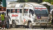 Kenia Kleinbusse Matatu