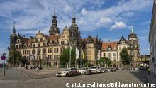 Dresden, Residenzschloss   Verwendung weltweit, Keine Weitergabe an Wiederverkäufer.