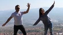 Jovana Ristic und Srdjan Sandic in Vranje