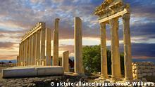 Türkei archäologische Stätte Pergamon