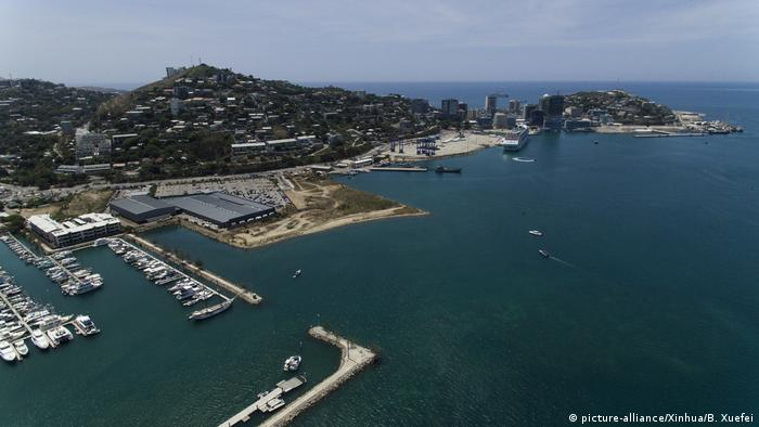 Papua-Neuguinea Port Moresby (picture-alliance/Xinhua/B. Xuefei)