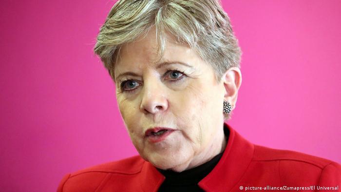 Alicia Bárcena Ibarra Exekutivsekretär ECLAC (picture-alliance/Zumapress/El Universal)