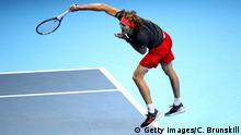 Tennis, Alexander Zverev bei den ATP Finals (Getty Images/C. Brunskill)