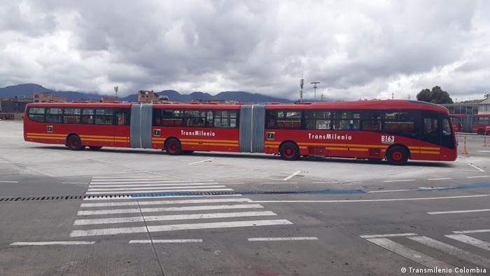Transmilenio en Bogotá - BRT (Bus Rapid Transit)