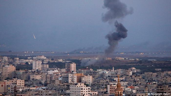 Атака Сил оборони Ізраїлю на об'єкти в секторі Гази, архівне фото