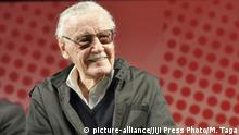 U.S. comic writer Stan Lee attends the opening ceremony of Tokyo Comic Con in Chiba city, suburban Tokyo, Japan, December 2, 2016. The festival of comic, movie, pop culture tied up with San Diego Comic-Con will be held until December 4. JIJI PRESS PHOTO / MORIO TAGA |