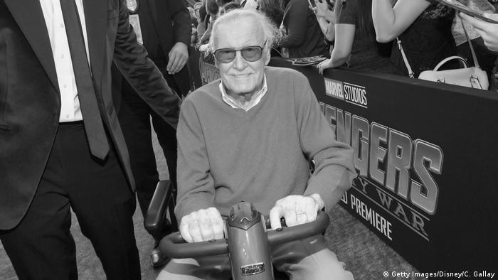 Stan Lee US-amerikanischer Comicautor (Getty Images/Disney/C. Gallay)