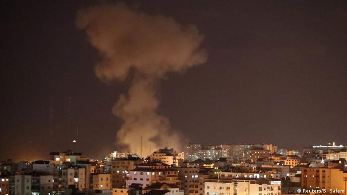 Israelischer Luftangriff auf den Gazastreifen