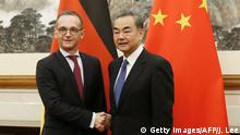 Außenminister Heiko Maas in China | Wang Yi