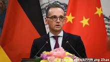 Außenminister Heiko Maas in China