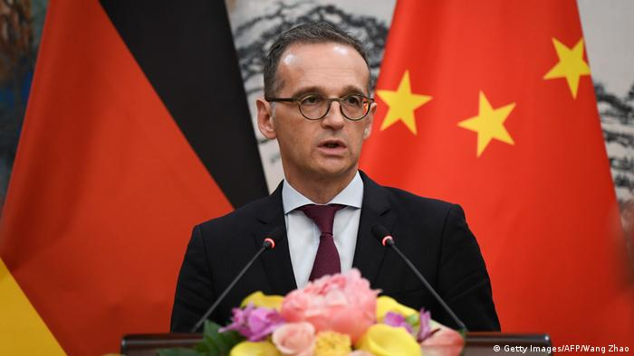 Außenminister Heiko Maas in China (Getty Images/AFP/Wang Zhao)