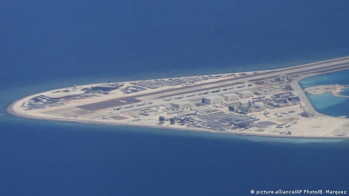 Südchinesisches Meer Spratly-Inseln Subi Riff