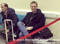 """Навальний в московському аеропорту """"Домодєдово"""""""