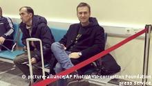 Russland Moskau - Alexei Navalny