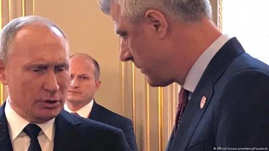 Ragime të ashpra pas takimit Thaçi Putin