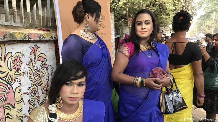 Transgender in Bangladesh (DW/H. Ur R. Swapan)