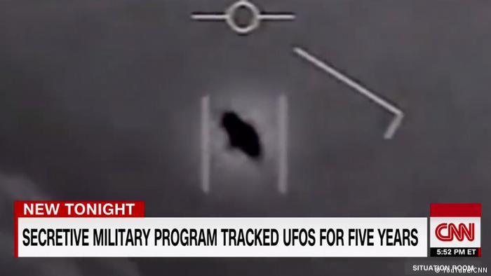 Screenshot Ex-Kampfpilot spricht über Ufo-Sichtung (YouTube/CNN)