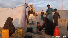 Afghanistan Kabul - Wegen Krieg und Dürre umgesiedelte Familen