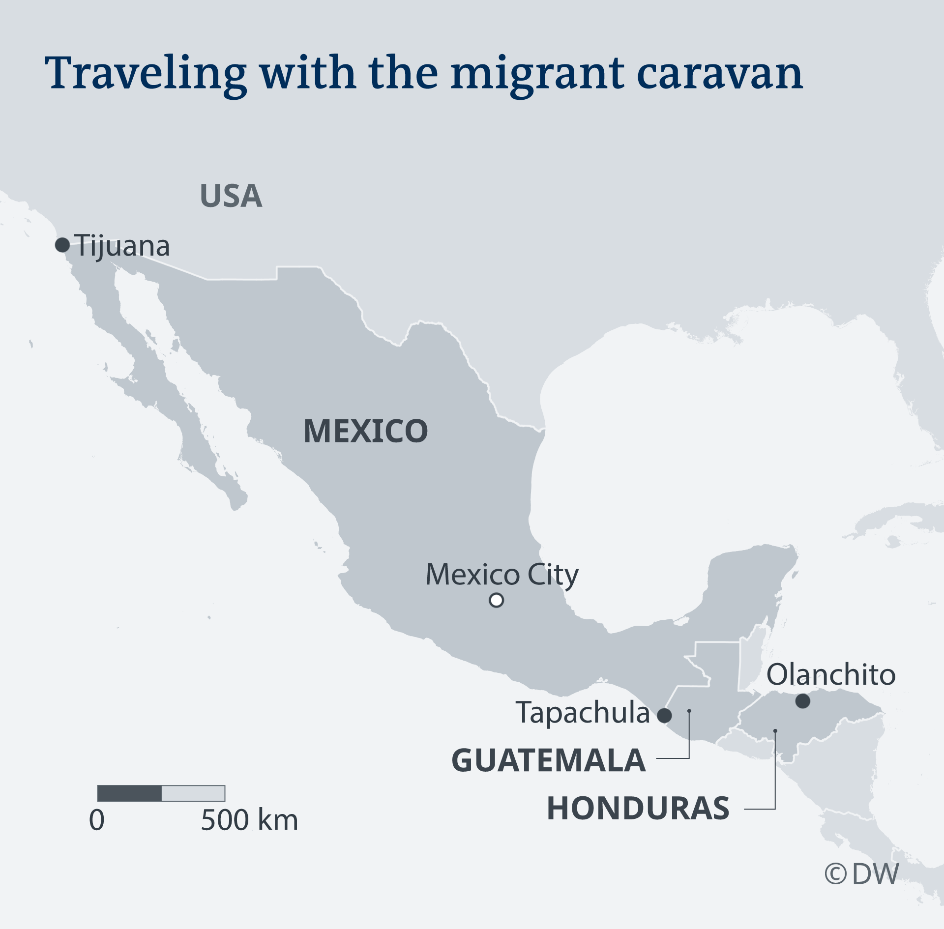 Honduras Mexico Map.Migrant Caravan Was My Only Chance For A Better Life Americas