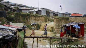 Bangladesch - Rohingya Flüchtlinge (picture-alliance/AP Photo/A. Qadri)