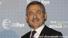 Italien Libyen-Konferenz in Palermo Giuseppe Conte und Fuat Oktay