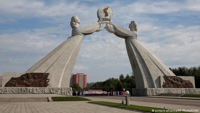 Nordkorea Architektur | Arch of Reunification
