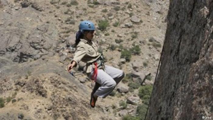 Iran, Bergsteigerinnen (irna)