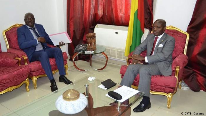 Guinea-Bissau und der Premier Minister (DW/B. Darame)
