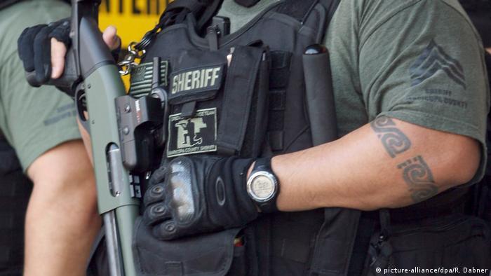 Policía tatuado en EE. UU.
