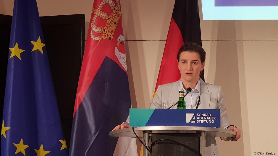 Brnabiq  Kompromisi me Kosovën i vështirë