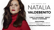 Flyer Stand Up mit Natalia Valdebenito