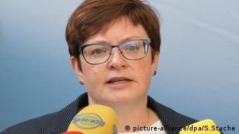 Verdi-Bereichsleiterin Christine Behle
