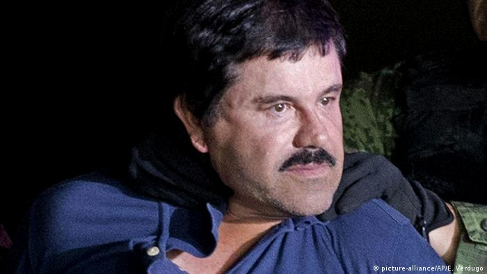 Mexiko, Mexiko City: Joaquin El Chapo Guzman