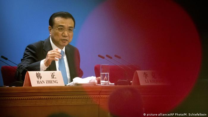 Li Keqiang (picture-alliance/AP Photo/M. Schiefelbein)