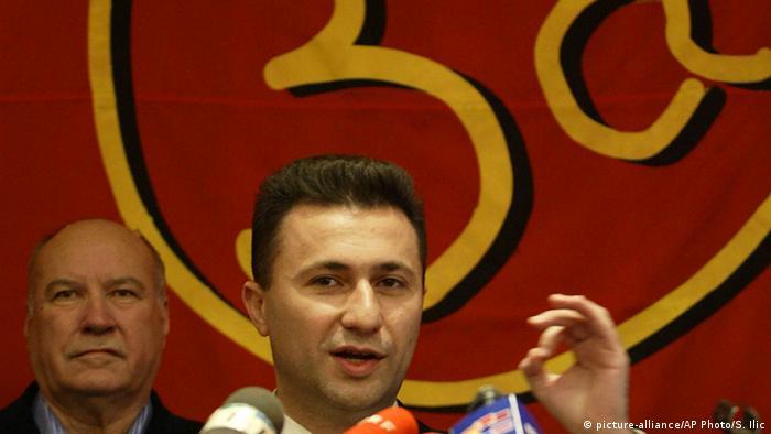 Mazedonien Nikola Guevski Ex-Premierminister (picture-alliance/AP Photo/S. Ilic)