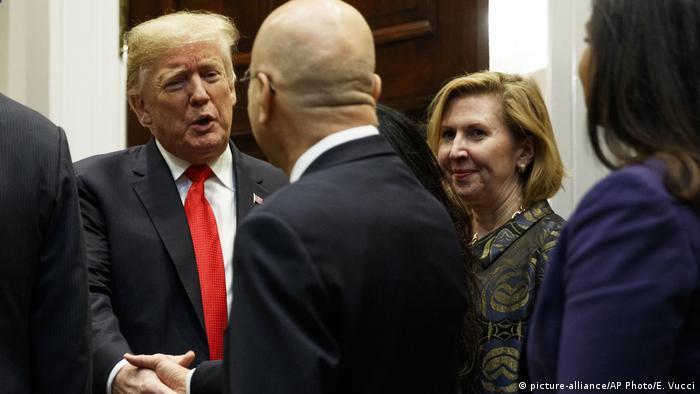 Трамп и Рикардель