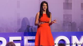 Oslo Freedom Forum 2018 in Taiwan | Megha Rajagopalan, BuzzFeed