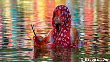 Indien Hindu-Festival Chhath Puja (Reuters/J. Dey)
