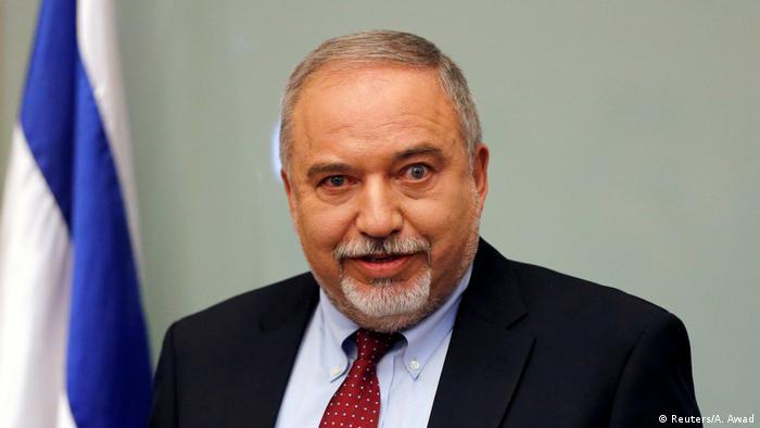 Avigdor Lieberman (Reuters/A. Awad)