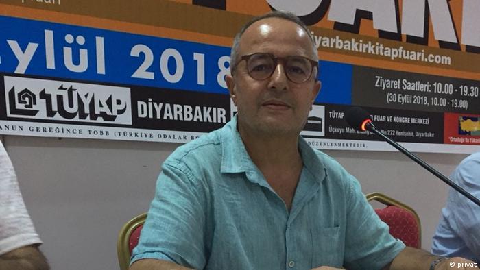 PEN Türkei Vizepräsident Halil Ibrahim Ozcan (privat)