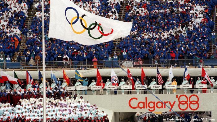 Kanada Olympischen Winterspiele 1988 - Eröffnungsfeier