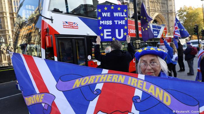 Großbritannien Proteste in London | anti-Brexit (Reuters/K. Coombs)