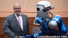 Wirtschaftsminister Peter Altmaier (l., Archivbild)(picture-alliance/dpa/S. Hoppe)