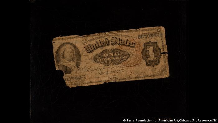 Eine Ein-Dollar-Note (Terra Foundation for American Art,Chicago/Art Resource,NY)