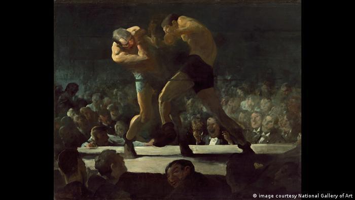 Zwei Boxer bekämpfen sich (image courtesy National Gallery of Art)