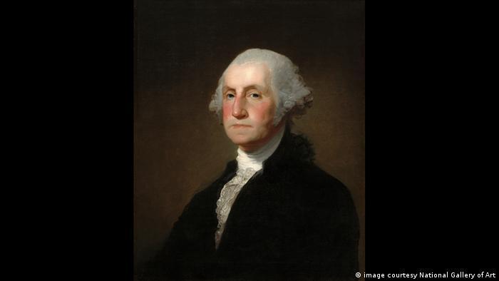 Porträt von George Washington, des ersten US-Präsidenten (image courtesy National Gallery of Art)