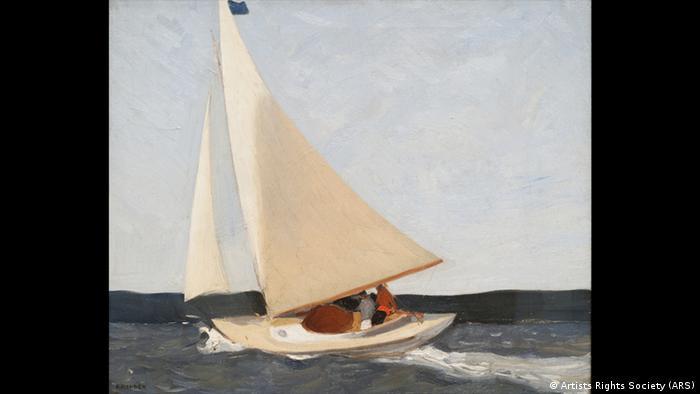 Ausstellung Es war einmal Amerika im Wallraf-Richartz-Museum - Edward Hopper (1882 – 1967), Sailing (Artists Rights Society (ARS))
