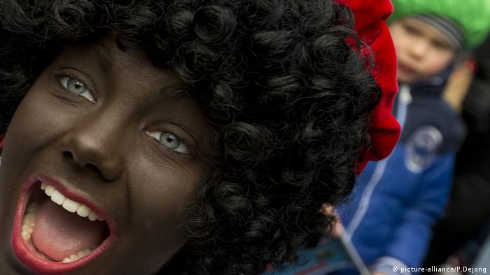 Niederlande, Black Pete Protest (picture-alliance/P.Dejong)